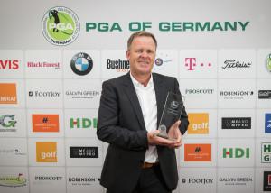 PGA, Galaabend, Kassel, 20.2.2016, Trainer des Jahres, Peter Wolfenstetter.